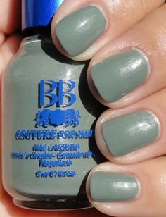 """BB Couture in Shaded Ash (Fall 2012 """"Shades of Grey"""" collection, $10.95)."""