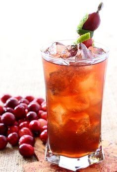 If you like rum and coke cocktails, you're going to love this Rum Harvest Cocktail!
