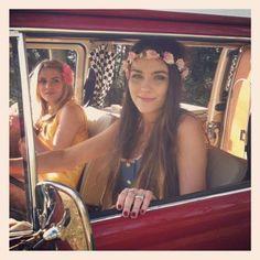 get a hippie van!