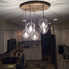 Farmhouse Lighting Dining Chandelier Rustic Modern 7 Pendant | Etsy