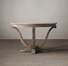 "RH Camille Table, 48"" dia $1495 retail, $805 member"