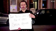 The first 'Love Actually' reunion trailer, featuring The Walking Dead's Andrew Lincoln, dropped on Monday, March 13 — watch the video!