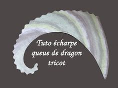 Tuto écharpe queue de dragon au tricot facile et rapide!