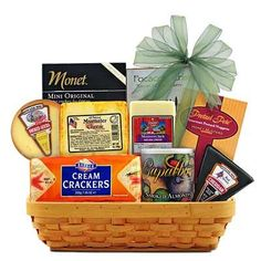 Cheese & Crackers Classic Collection Gift Basket $50.95