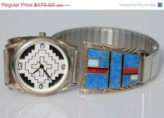 SALESt. Pattys Day Vintage Signed Navajo by Yourgreatfinds on Etsy, $145.25