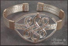Designs by Stephanie : Celtic Knot Cuff