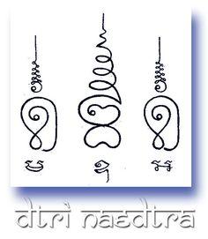 Sak Yant Thai Buddhist designs