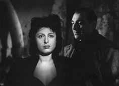 """""""Il Bandito"""" - Regia Alberto Lattuada - 1946  Anna Magnani & Mino Doro"""