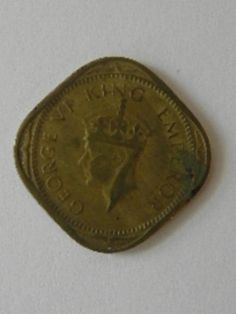 1943 India Coin 2 Annas by SongSparrowTreasures on Etsy, $2.00