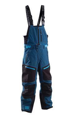 TOBE Privus Pant, Legion Blue - Snowmobile, ski and snowboard bibs. 100% windproof, 100% waterproof, breathable Sympatex Membrane. #chooseyourpath
