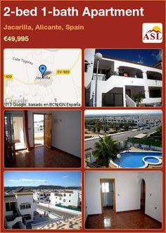 2-bed 1-bath Apartment in Jacarilla, Alicante, Spain ►€49,995 #PropertyForSaleInSpain