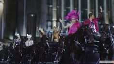First Look at our Tribute Parade Horses for The Hunger Games ...