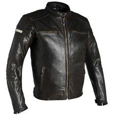 Richa Daytona Leather Jacket - Brown - FREE UK DELIVERY