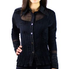 1990s Pleated Shirt, £37, now featured on Fab.
