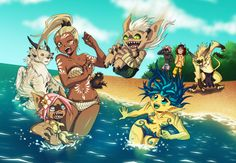 Guild Wars 2 Summer Madness by ~Qvi on deviantART