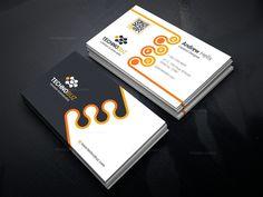 Revolution Business Card Template 000755