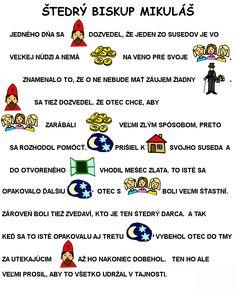 Winter Christmas, Christmas Time, Christmas Cards, Saint Nicholas, Bible Stories, Winter Time, Crafts For Kids, Czech Republic, December