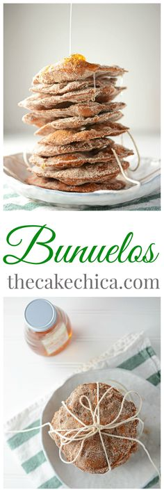 A Mexican favorite! These Bunuelos are sure to please! They are perfect to make with your family during the Christmas holidays! Best Dessert Recipes, Desert Recipes, Fun Desserts, Cookie Recipes, Cookie Tips, Mexican Dishes, Mexican Food Recipes, Mexican Desserts, Gastronomia