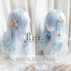 Kawaii Hairstyles, Pretty Hairstyles, Wig Hairstyles, Manga Hair, Anime Hair, Kawaii Fashion, Lolita Fashion, Kawaii Wigs, Lolita Hair