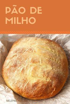 Pão de Milho    Receita de pão de milho macio, saboroso e fácil de preparar. Faça pães em casa.