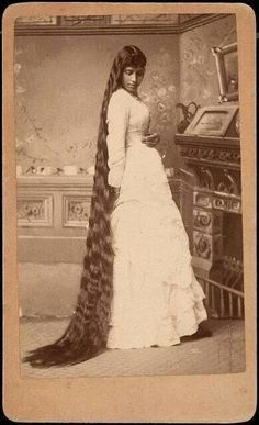 """Blackfoot Indian woman with amazing hair, stunning...."" - I always felt growing my hair as long as it is now was true to my tribe, this is proof!"