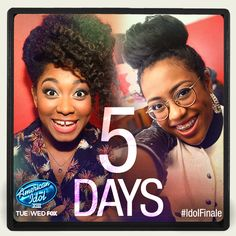 Only 5 DAYS until the Idol Finale! Get all the latest info here: http://www.americanidol.com