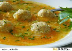 Miliónová polévka našich babiček recept - TopRecepty.cz Ramen Noodles, Thai Red Curry, Food And Drink, Soup, Ethnic Recipes, Fit, Bon Appetit, Halloween, Scrappy Quilts