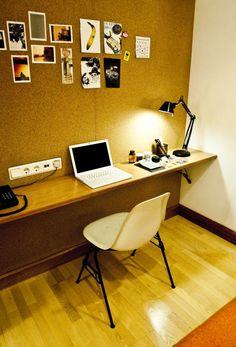 simple workspace in Creators Inn