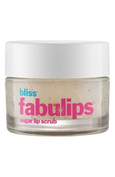 Bliss 'Fabulips™' Sugar Lip Scrub | #Nordstrom