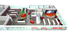 Kids Library, Library Room, Library Design, Library Ideas, Library Floor Plan, Library Furniture, Floor Plan Layout, Book Cafe, Inspiration Boards
