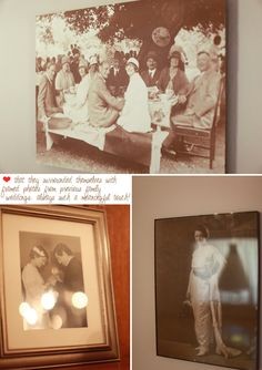 ♥ vintage photographs from family weddings of old {Jana Williams Photography}