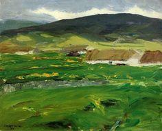 O'Malley Home (Achill Island, County Mayo, Ireland) Robert Henri, 1913