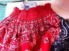 Naptime = Craft time!: Quick & Adorable Bandana dress!