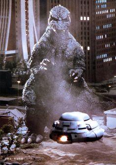 Godzilla and the Super-X (The Return of Godzilla)