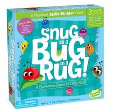 Peaceable Kingdom - Cooperative Game Snug as a Bug in a Rug because we love feed the woozle #entropywishlist #pintowin