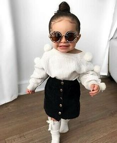 Baby Club - online baby clothes stores where you can find fashionable baby clothes. There is a kid and baby style here. Cute Little Girls Outfits, Kids Outfits Girls, Little Girl Fashion, Fashion Kids, Toddler Fashion, Toddler Outfits, Toddler Girls, Baby Girls, Cute Baby Outfits