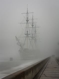 """Flying Dutchman"" in St. Petersburg, Russia. :)"