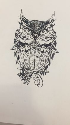 Lovely selfmade tattoo design ❣️