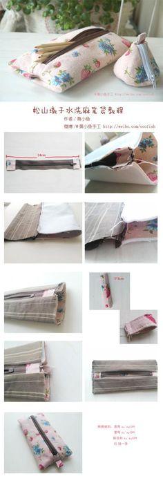 O baidunzi Songshan lavado roupa tutorial caixa de lápis