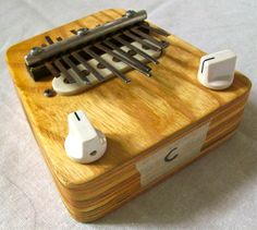 Electric Kalimba in C thumb piano by HBhandmades on Etsy, $160.00