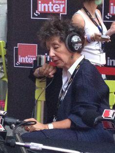 Laurence Bloch, directrice de France Inter... et auditrice avant tout !  #lenversdudecor Photo © @anne_A09 / Anne Audigier