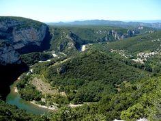 Les Gorges de l'Ardèche    www.meteocity.com