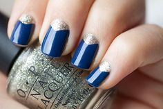 Love the blue and silver... I need to invest in a decent blue varnish