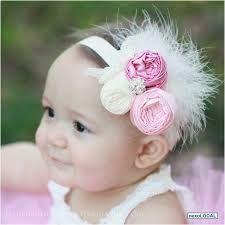 Resultado de imagen para diademas para bebes