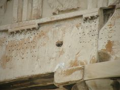 Holes on the Parthenon Parthenon, Acropolis, Architrave, Beams, My Favorite Things, Columns, Purpose, Lost, Painting