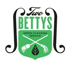 Two Bettys badge (via Allan Peters) #TwoBettys #green #cleaning