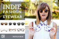 Affordable Indie Fashion Eyewear