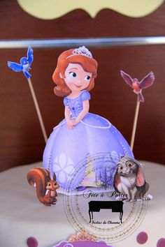 Sofia the First Princess Party via Kara's Party Ideas #PrincessParty #SofiaTheFirst #PartyIdeas (8)