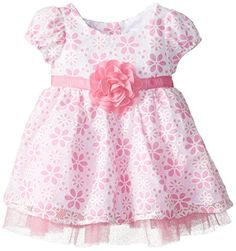Youngland Baby-Girls Infant Floral Burnout Dress, Pink/White, 12 Months Youngland http://www.amazon.com/dp/B00OV1EZ2S/ref=cm_sw_r_pi_dp_NMy0ub1YYWAR1