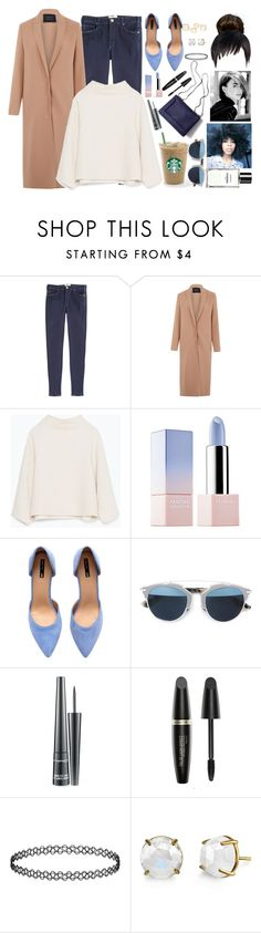 """""""Airport - Arriving at Paris with sister Lilly and Keira"""" by luxury-kamar ❤ liked on Polyvore featuring мода, McGuire Denim, Lanvin, Zara, Sephora Collection, H&M, Christian Dior, MAC Cosmetics, Max Factor и 3.1 Phillip Lim"""